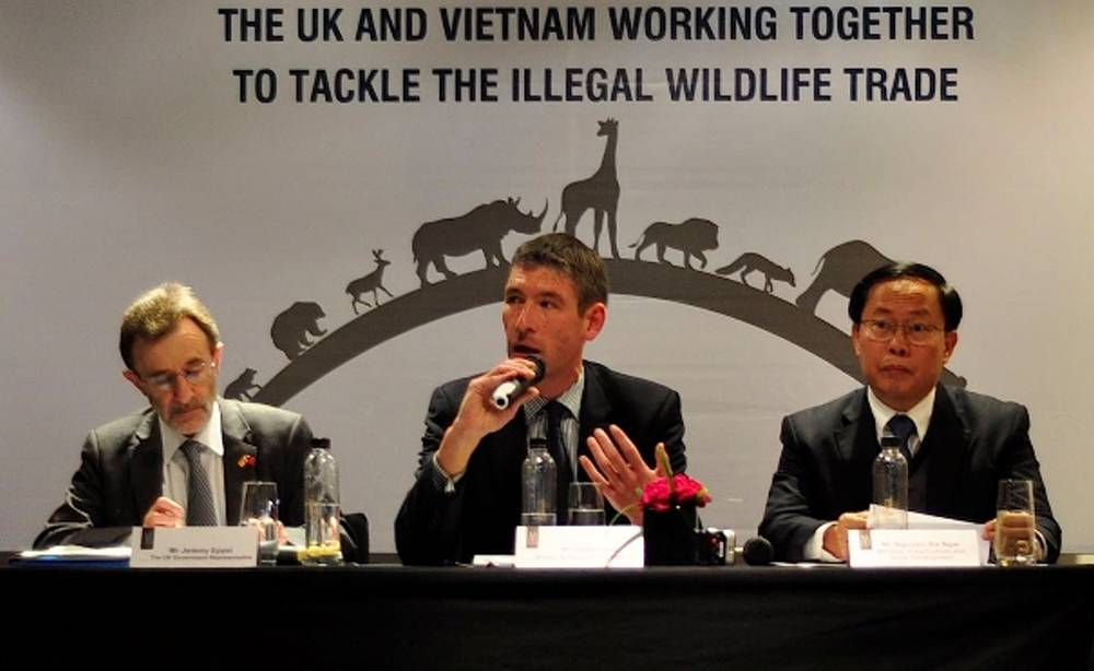 Leadsom: UK leading global fight against illegal wildlife trade