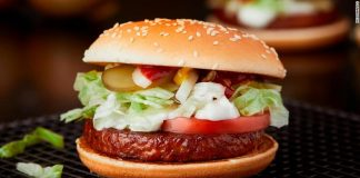 McDonald's to sell a McVegan burger in Europe